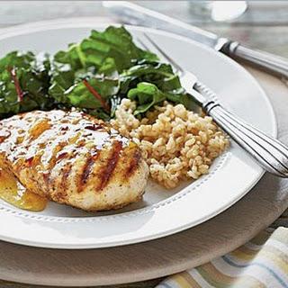 Weight Watchers Spiced Chicken with Orange-Chipotle Glaze
