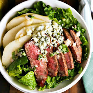 Grilled Steak Salad with French Vinaigrette.