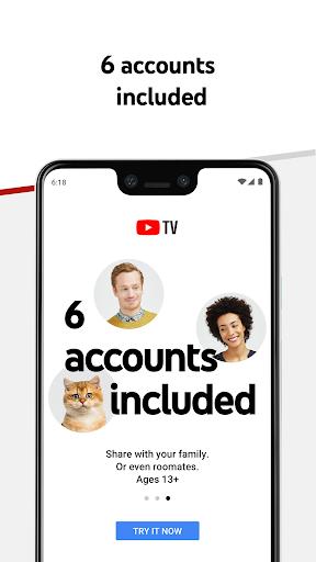 YouTube TV - Watch & Record Live TV 4.33.3 Screenshots 5