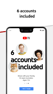 YouTube TV - Watch & Record Live TV Screenshot