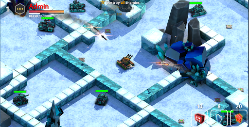 Block Tank Wars 3 – Free Online Tank Shooter 3D - screenshot