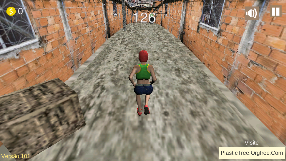 Favela Run - Free- screenshot