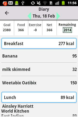 My Meal Mate- screenshot