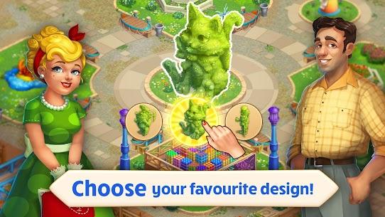 Matchland – Build your Theme Park MOD (Unlimited Stars/Lives) 2