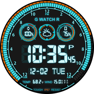 V03 WatchFace for Android Wear- screenshot thumbnail