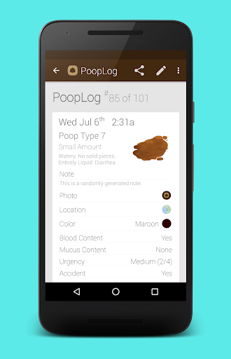 PoopLog screenshot 3