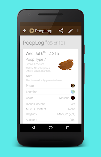 PoopLog Screenshot