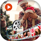 Merry Christmas Video Maker - Slideshow Maker 2018