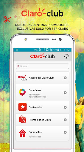 Claro Club Centroamérica 2.0.0 screenshots 1