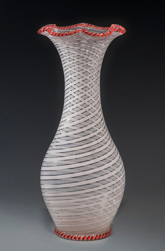 Filigree Glass Vase