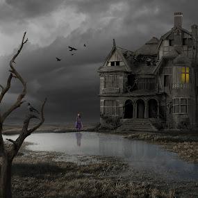 Nothebom by Frank Quax - Digital Art Places ( fantasy, creative, editing, landscape, manipulation, photoshop )