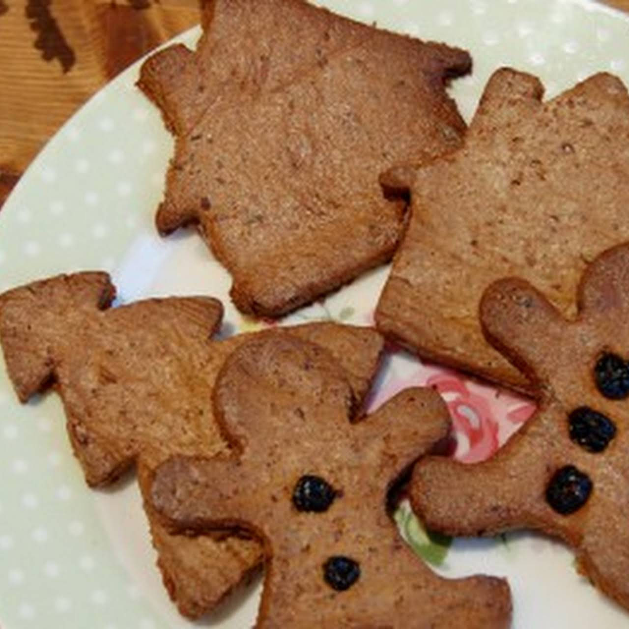 Healthy Gingerbread Cookies – #FitTeam14 December