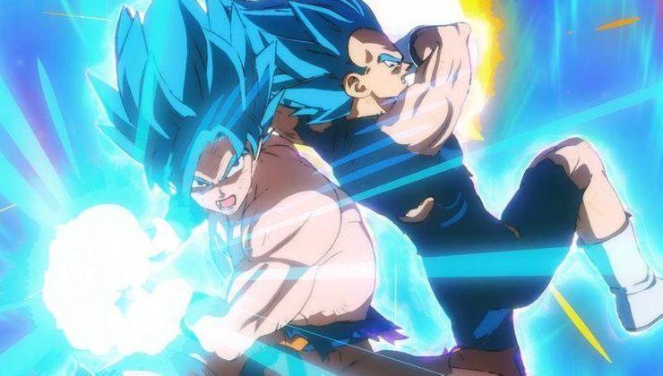 Goku and Vegeta Super Saiyan Blue