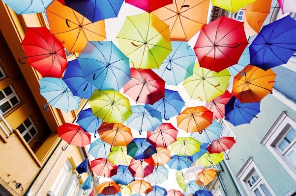la festa dei colori degli ombrelli di fabry_e_eva_principato