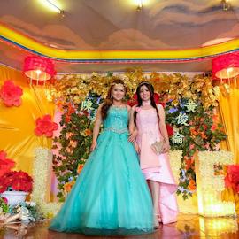 Wedding by Pandu Hari Santoso - Wedding Ceremony ( wedding, photographer, selatpanjang, photo, chinese )
