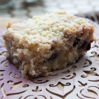 Low FODMAP Berry Crumb Cake