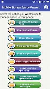 Mobile Storage Full: Phone Memory Free Space Maker 2.4