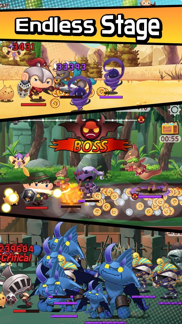 Sudden Warrior (Tap RPG) Screenshot 3