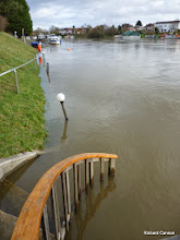 Photo: Entrance steps under water