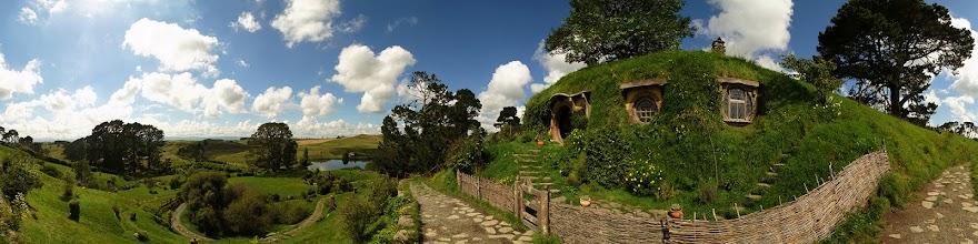 Photo: New Zealand, Northland, Matamata, Hobbiton