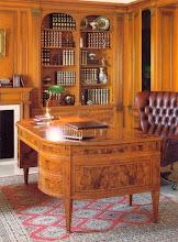Photo: Schreibtisch in Myrthemaser
