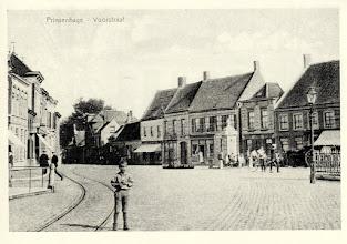 Photo: 1914 Voorstraat gezien vanaf de Haagsemarkt.