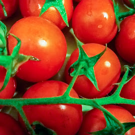 Cherry tomatoes by Gino Libardi - Food & Drink Fruits & Vegetables ( tomato, cherry tomatoes, tomatoes )