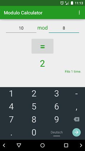 Modulo Calculator