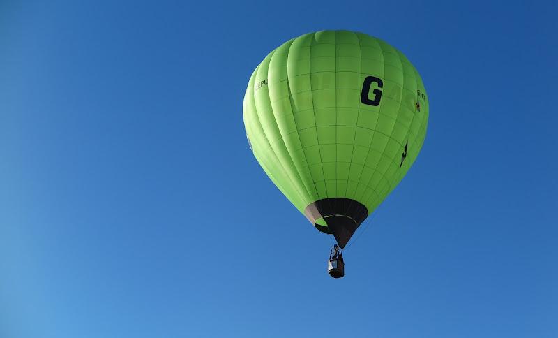 pallone volante di Piera