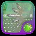 Green board GO Keyboard icon