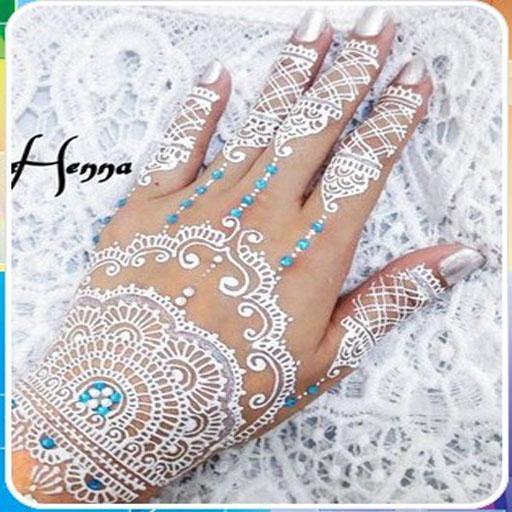 Desain Henna Putih Aplikasi Di Google Play