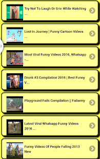Funny videos:- screenshot thumbnail
