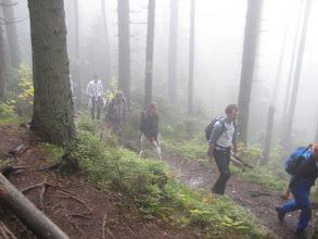 Photo: Anfangs durch ziemlichen Nebel...