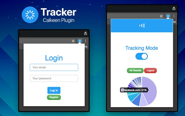 Calkeen Website Tracker