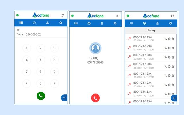 Acefone WebPhone