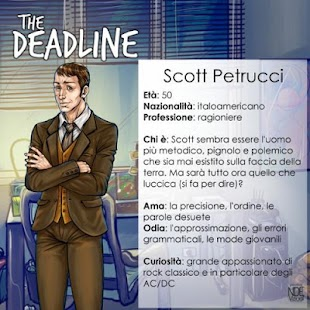The Deadline - Visual Novel (Demo)- miniatura screenshot