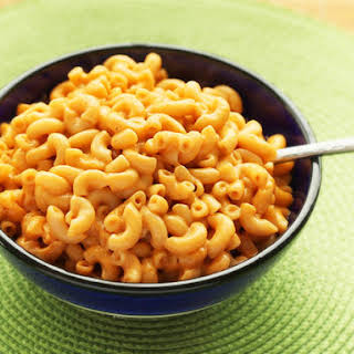 Vegan Stovetop-Style Macaroni and Cheese.