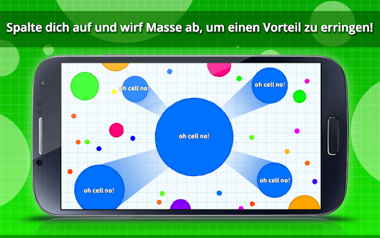 android Agar.io Screenshot 3