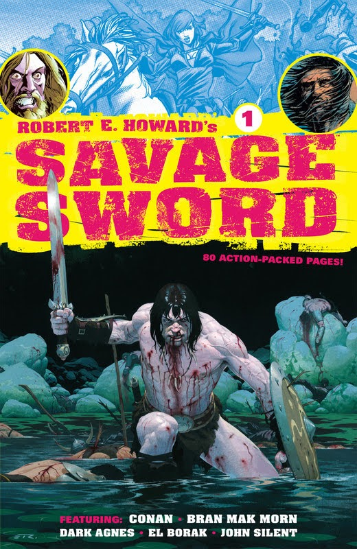 Robert E. Howard's Savage Sword (2010) - complete