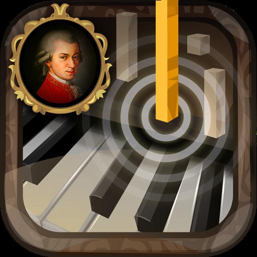 音乐のピアノモーツァルト LOGO-記事Game
