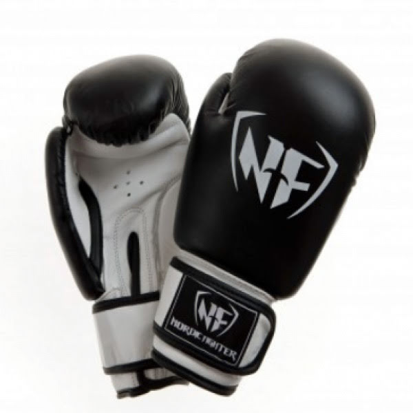 Boxhandske NF Basic Black - Artificial Leather