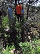 Photo: Развалины крепости на скале Иссар.