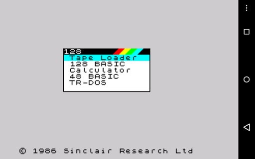 USP - ZX Spectrum Emulator 0.0.86.14 screenshots 7