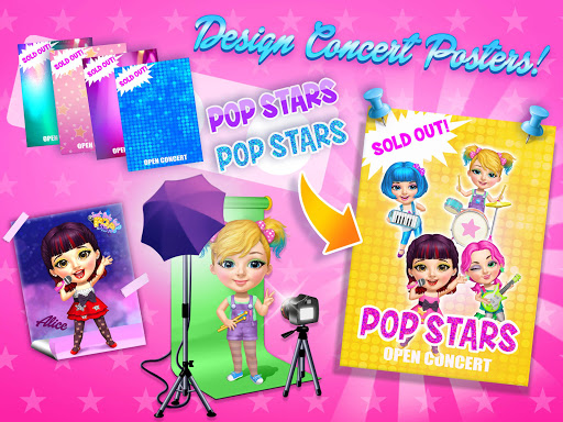 Sweet Baby Girl Pop Stars - Superstar Salon & Show  screenshots 23