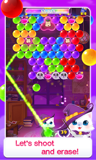 Bubble Kitten Cute cat shooter