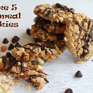 Take 5 Caramel Oatmeal Cookies