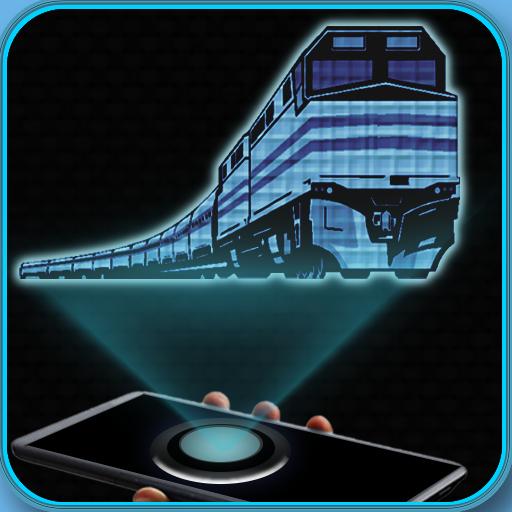 休閒App|火車全息仿真惡作劇 LOGO-3C達人阿輝的APP