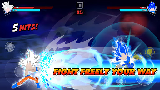 Stickman Battle Fight APK MOD (Astuce) screenshots 1