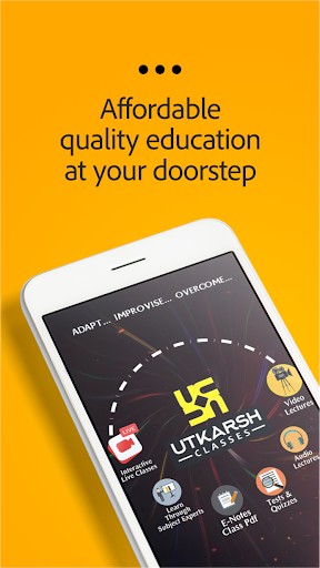 Utkarsh : Live Classes, Quiz & Test, Smart e-books 3.5.1 screenshots 1