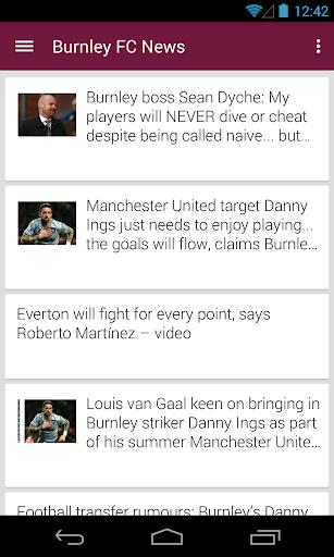 BIG Burnley Football ニュース
